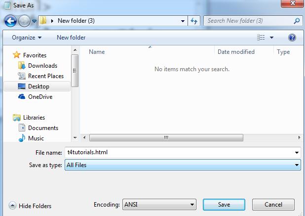 save html fine in arabic