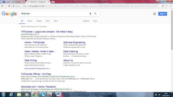 google search engine to submit a website for SEO