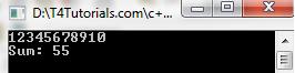 C Program to Print number Series cpp cplus plus flowchart