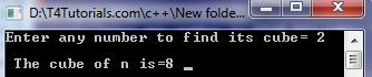 cube root of number program in cplusplus flowchart