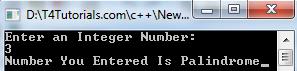 palindrome program flowchart cpp, c