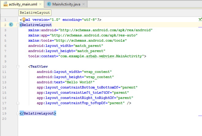 Converting a website into an android app